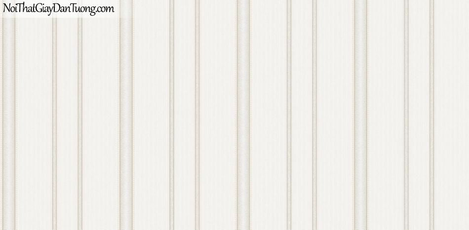 Giấy dán tường Hàn Quốc Hera H6040-1 - giấy dán tường sọc thẳng, sọc màu trắng, sọc kem, sọc sáng