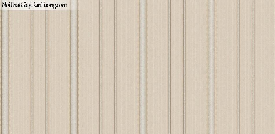 Giấy dán tường Hàn Quốc Hera H6040-2 - giấy dán tường sọc màu vàng đậm, sọc thẳng, đường chỉ sọc