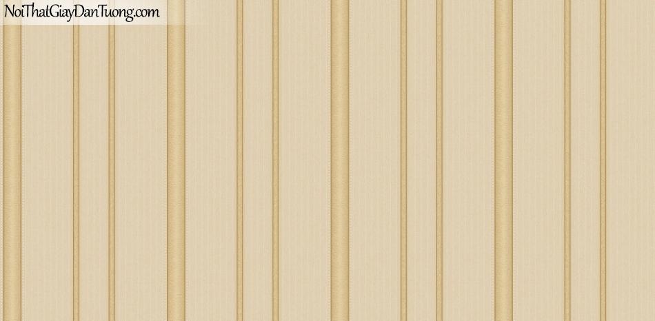 Giấy dán tường Hàn Quốc Hera H6040-3 - giấy dán tường sọc màu vàng