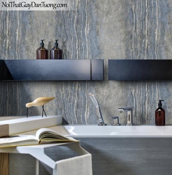 Giấy dán tường Hàn Quốc Hera H6047-2 - giấy dán tường đá xanh, đá mảng lớn, đá tự nhiên, đá hoa cương