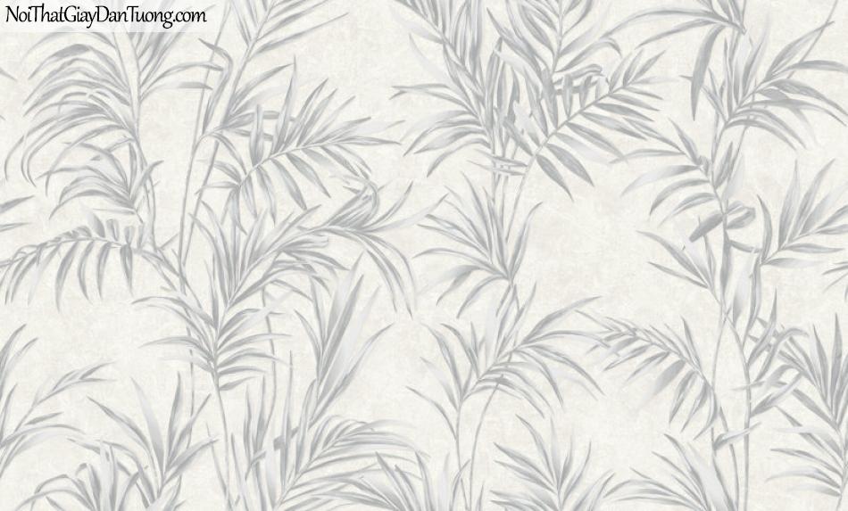 Giấy dán tường Hàn Quốc Hera H6048-1 - giấy dán tường lá cây, cành cây, lá cây ép khô