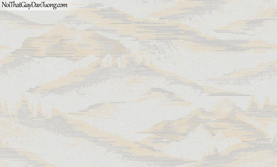 Giấy dán tường Hàn Quốc Hera H6050-1 - giấy dán tường núi non trùng điệp, mang phong cách thủy mặc, phong thủy