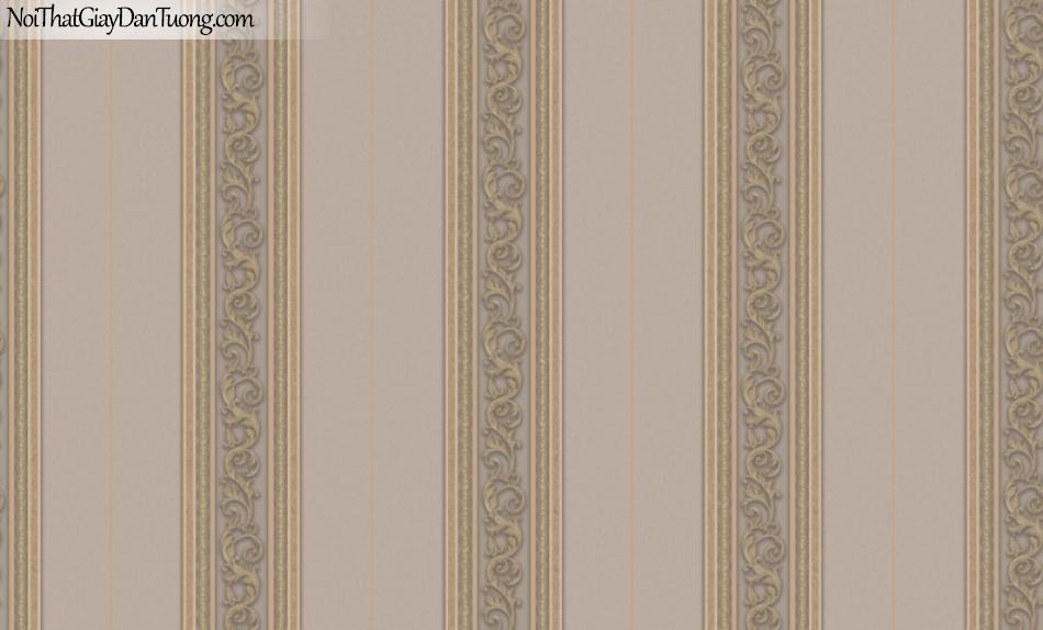 Brandnew, Giấy dán tường 8603-3 , Giấy dán tường sọc đỏ, đường viền đứng