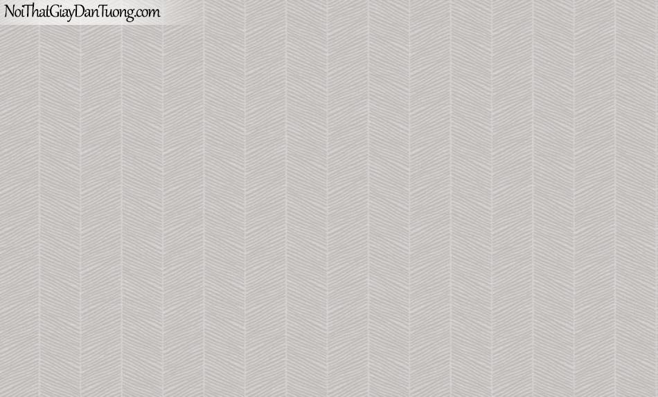Brandnew, Giấy dán tường 8606-4, Giấy dán tường sọc đứng, màu xám nhẹ