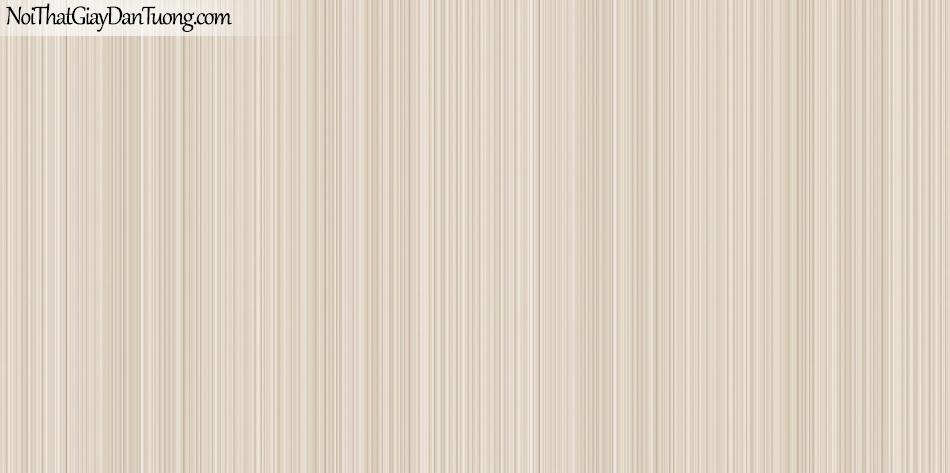 Art Noveau, Giấy dán tường Hàn Quốc 9366-3 , giấy dán tường sọc nhiều màu vàng nhạt