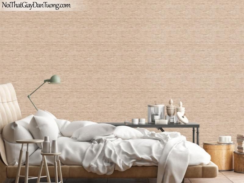Art Noveau, Giấy dán tường Hàn Quốc 9371-2 pc, giấy dán tường màu vàng đất