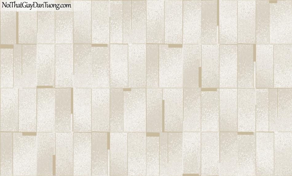 3D, Giấy dán tường giả đá, giả đá màu trắng 3D 420-2 g giấy dán tường giả đá nền trắng vàng