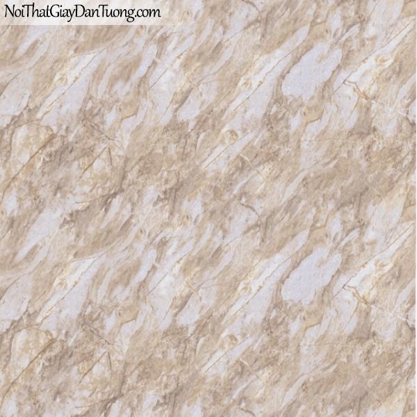 3D, Giấy dán tường giả đá, giả đá màu trắng 3D 83032-2 g, giấy dán tường giả đá màu vàng nâu