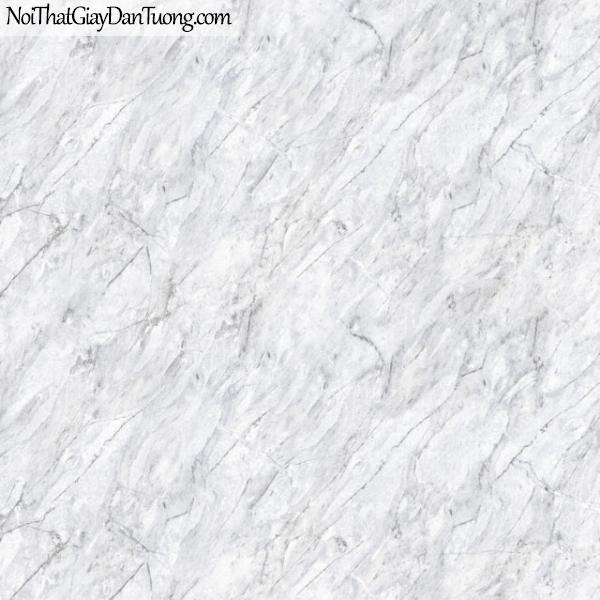 3D, Giấy dán tường giả đá, giả đá màu trắng 3D 83102-1 g, giấy dán tường giả đá 3D màu trắng xám