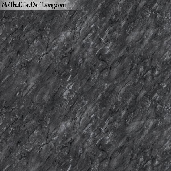 3D, Giấy dán tường giả đá, giả đá màu trắng 3D 83102-4 g, giấy dán tường giả đá màu xám tối