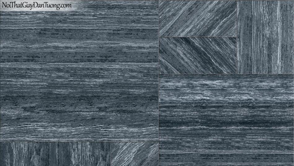 3D, Giấy dán tường giả đá, giả đá màu trắng 3D 85054-4 g, giấy dán tường màu xám có sọc ngang và dọc nối liền