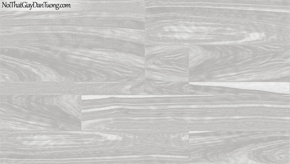 3D, Giấy dán tường giả đá, giả đá màu trắng 3D 85059-2 g, giấy dán tường nềnxám nhạt có vân ,sọc ngang và dọc