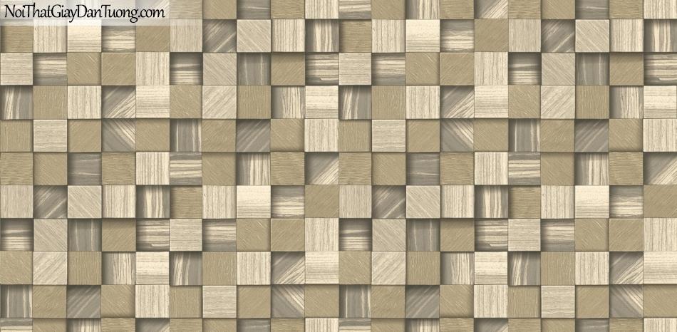 3D, Giấy dán tường giả đá, giả đá màu trắng 3D 85066-3 g, giấy dán tường giả đá 3D có nhiều màu sắc