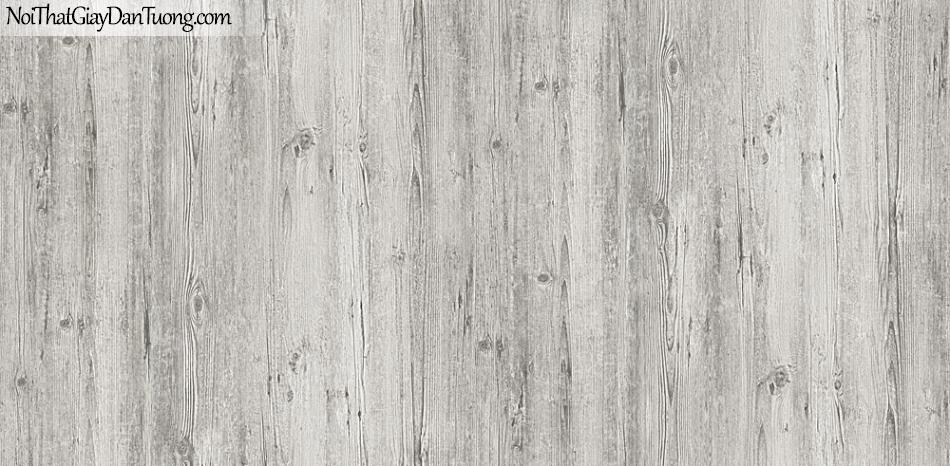 Giấy dán tường giả gỗ, màu nâu xám 54416-3 g