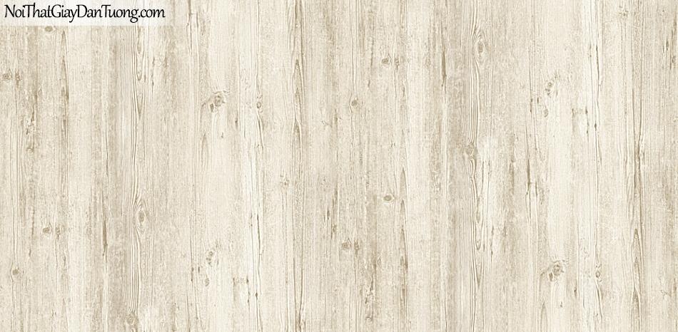 Giấy dán tường giả gỗ, màu vàng nhạt 54416-2 g