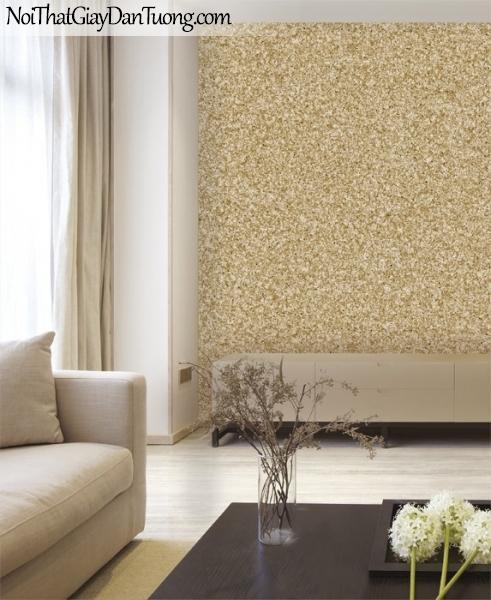 3D, Giấy dán tường giả đá, giả đá màu trắng 3D 87024-2 g pc, giấy dán tường giả đá màu vàng đồng