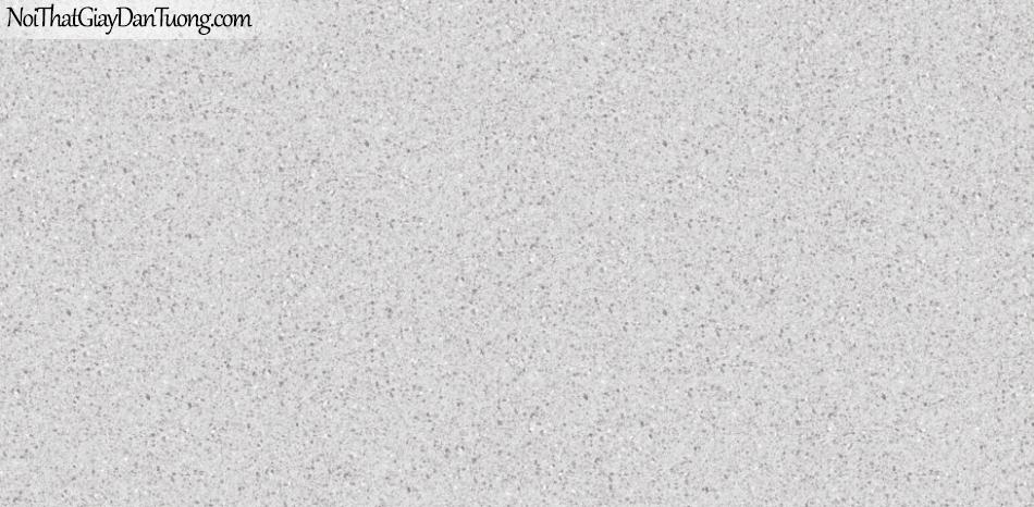 3D, Giấy dán tường giả đá, giả đá màu trắng 3D 87025-1 g, giấy dán tường màu xám trắng