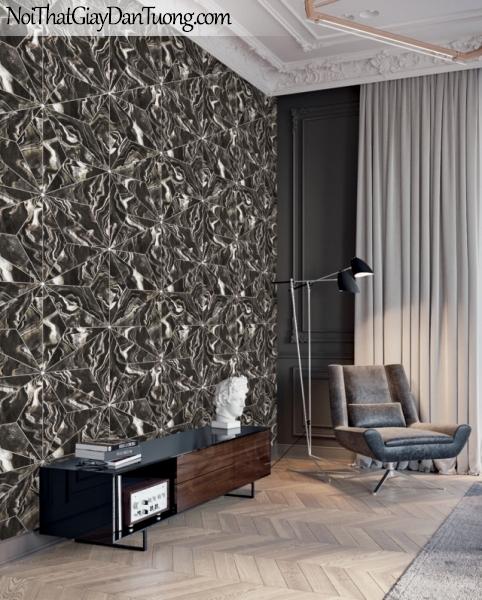 3D, Giấy dán tường giả đá, giả đá màu trắng 3D 88220-3 g pc, giấy dán tường giả đá phối