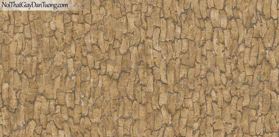 Giấy dán tường giả gỗ, những miếng gỗ nhỏ xếp cạnh nhau, màu vàng 87021-2 g