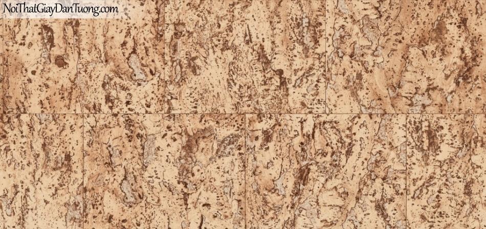Giấy dán tường giả gỗ, những miếng gỗ xếp cạnh nhau, màu vàng 87026-1 g