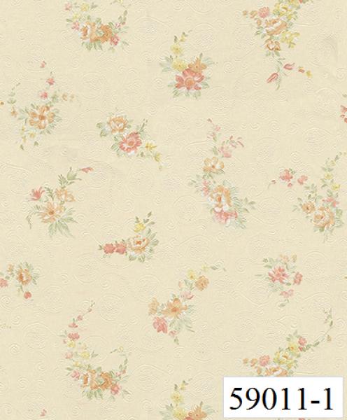 Giấy dán tường RABIA II 59011-1, giấy dán tường hoa rơi, hoa nhỏ, những cánh hoa bay