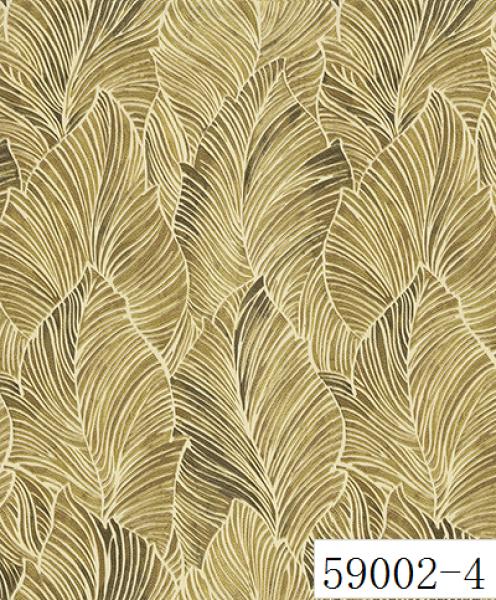 RABIA II, Giấy dán tường 559002-4, giấy dán tường hoa văn màu vàng, vàng đồng, vàng sẫm