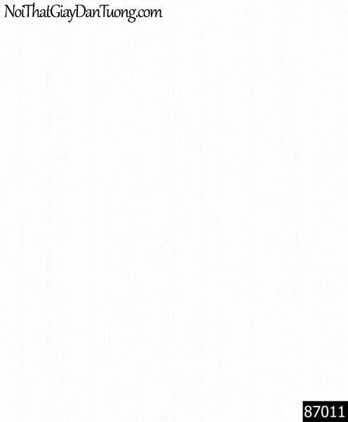 LAKIA, Giấy dán tường LAKIA 87011, Giấy dán tường màu trắng, đơn giản, tinh khiết, hiện đại