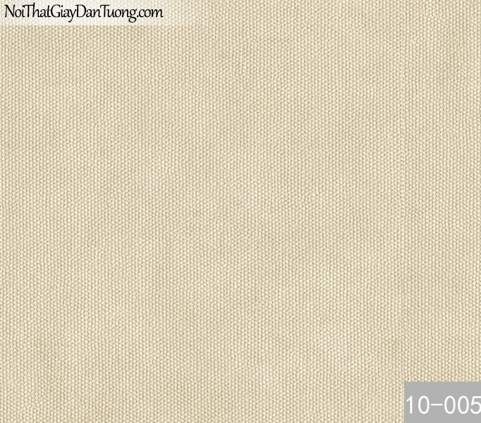 PLAIN, Giấy dán tường PLAIN 10-005, Giấy dán tường trơn, màu vàng kem, bán giấy dán tường ở Bình Tân
