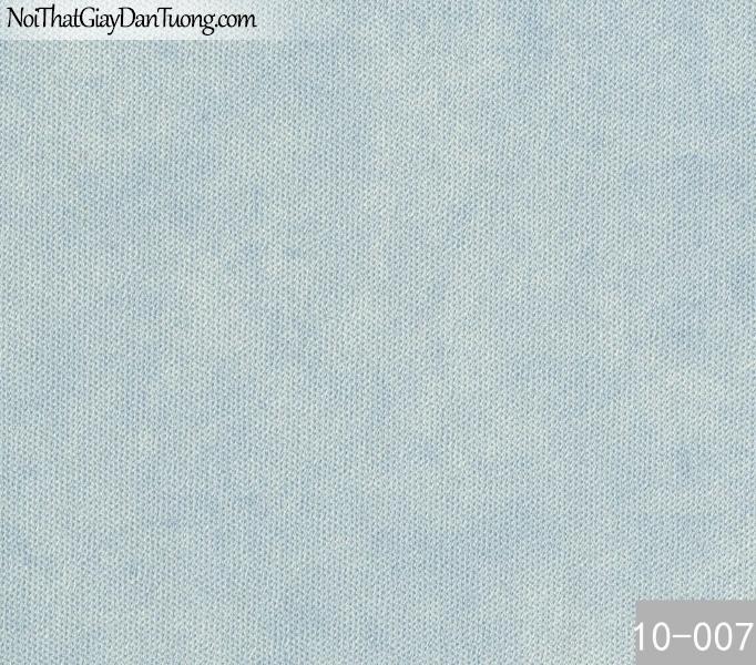 PLAIN, Giấy dán tường PLAIN 10-007, Giấy dán tường trơn, màu xanh nước biển, dùng cho những dự án lớn, phòng làm việc, chung cư