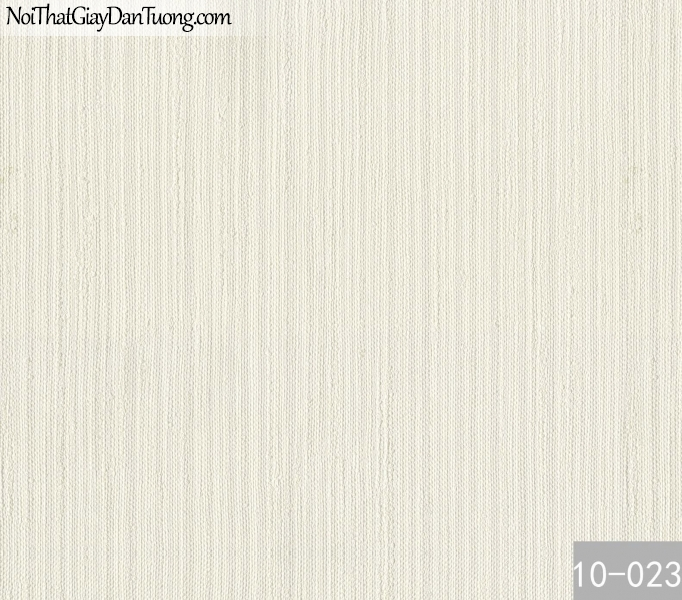 PLAIN, Giấy dán tường PLAIN 10-023, Giấy dán tường trơn, màu trắng kem, bán giấy dán tường ở quận 8