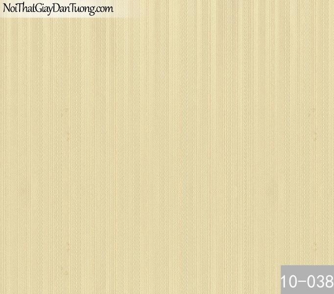 PLAIN, Giấy dán tường PLAIN 10-038, Giấy dán tường trơn, màu vàng, sọc nhỏ li ti, phù hợp với văn phòng