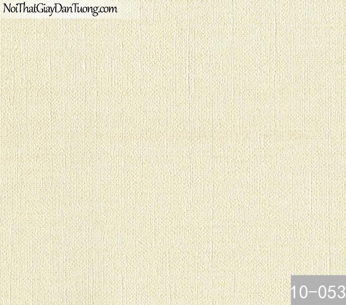 PLAIN, Giấy dán tường PLAIN 10-053, Giấy dán tường trơn, màu trắng kem, phù hợp với spa, nhà ở, dự án