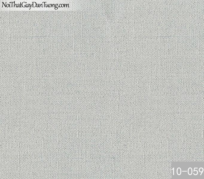 PLAIN, Giấy dán tường PLAIN 10-059, Giấy dán tường trơn, màu trắng xám, bán giấy dán tường ở quận 3