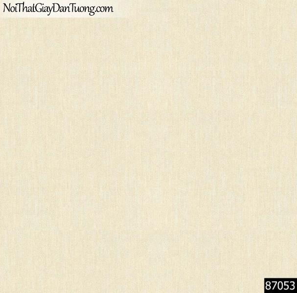 LAKIA, Giấy dán tường LAKIA 87053, Giấy dán tường màu vàng cát, giấy trơn, mịn, bán giấy dán tường ở quận 6