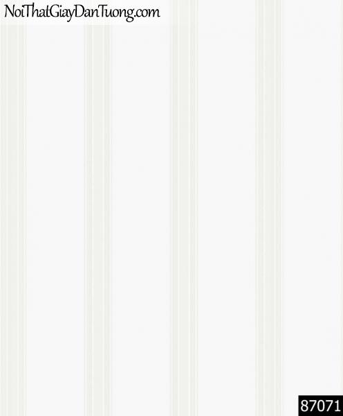 LAKIA, Giấy dán tường LAKIA 87071, Giấy dán tường màu trắng sữa, giấy trơn, mịn, bán giấy dán tường ở quận 6