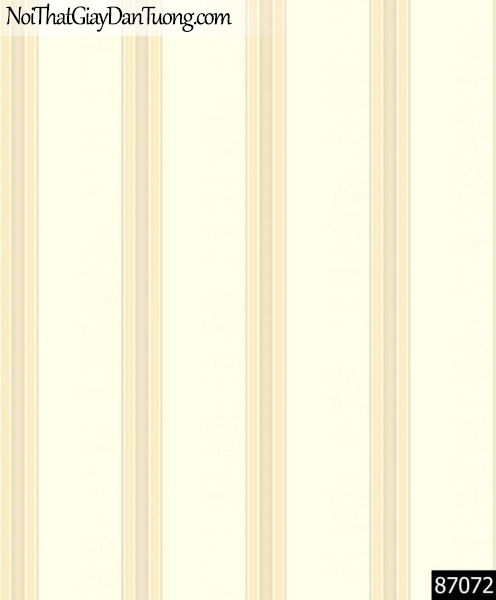LAKIA, Giấy dán tường LAKIA 87072, Giấy dán tường màu vàng kem, bán giấy dán tường ở quận 8