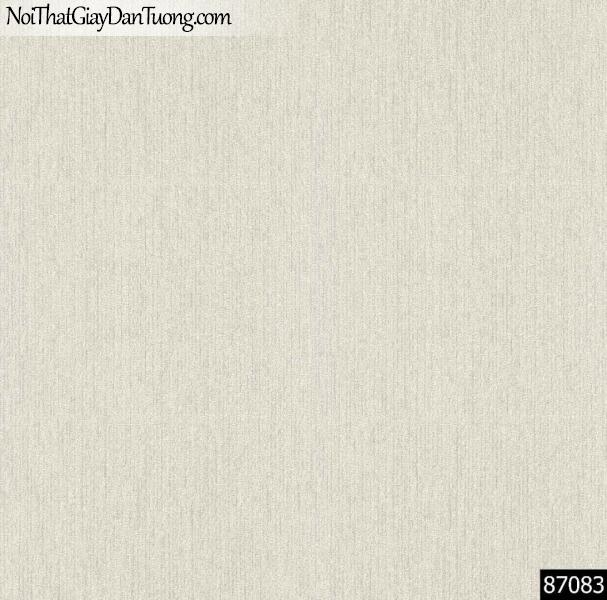 LAKIA, Giấy dán tường LAKIA 87083, Giấy dán tường màu trắng xám, giấy trơn, mịn, bán giấy dán tường ở quận Bình Tân