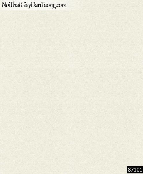 LAKIA, Giấy dán tường LAKIA 87101, Giấy dán tường màu trắng xám, giấy trơn, mịn, bán giấy dán tường ở quận 10