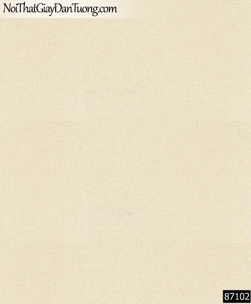 LAKIA, Giấy dán tường LAKIA 87102, Giấy dán tường màu vàng kem, giấy trơn, mịn, bán giấy dán tường ở quận 6