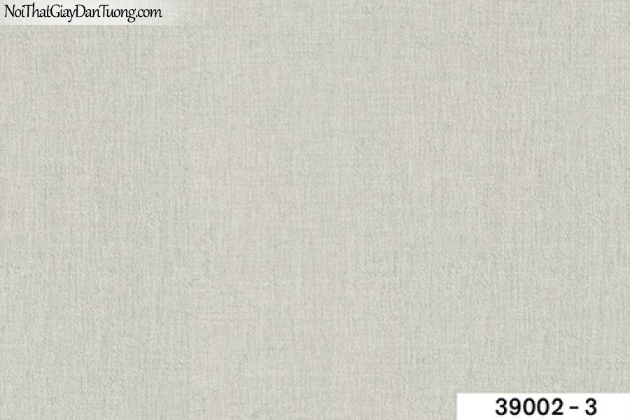 TITAN, Giấy dán tường TITAN 39002-3, Giấy dán tường trơn, mịn, màu xám lông chuột, phù hợp với dự án, chung cư, văn phòng, công ty