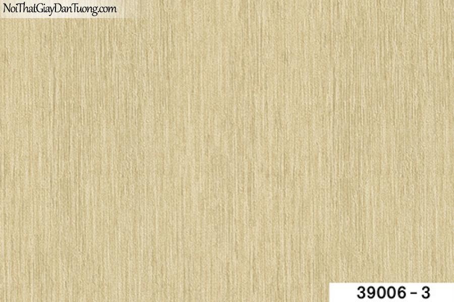 TITAN, Giấy dán tường TITAN 39006-3, Giấy dán tường màu vàng kem, gân nhỏ li ti, bán giấy dán tường ở quận 8