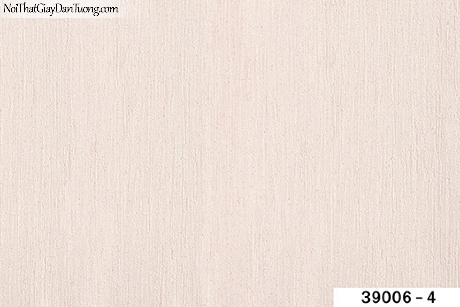 TITAN, Giấy dán tường TITAN 39006-4, Giấy dán tường màu hồng nhạt, gân nhỏ li ti, bán giấy dán tường ở quận 9