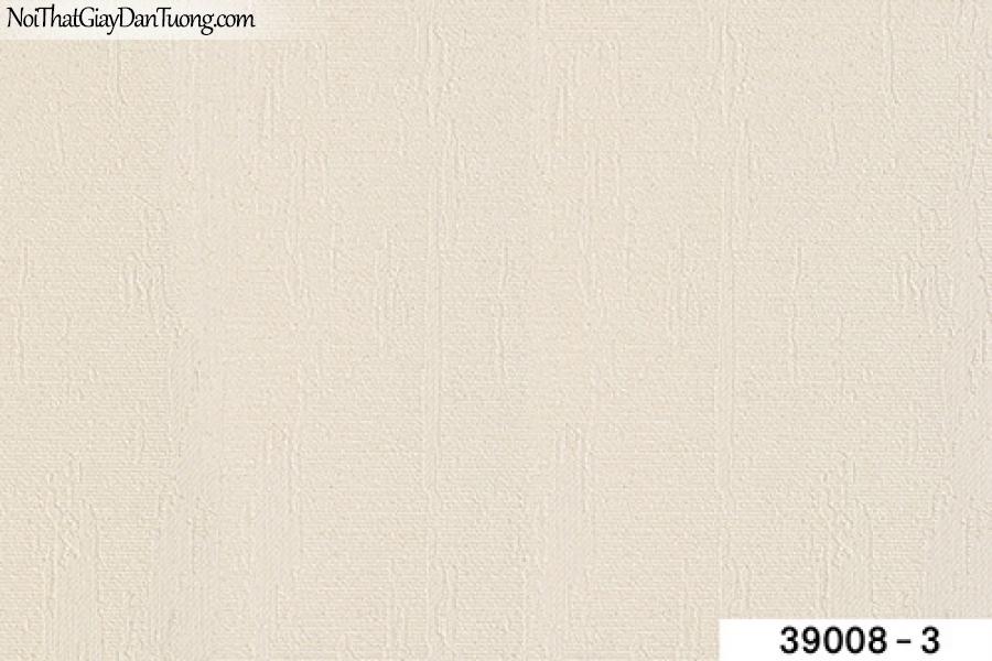 TITAN, Giấy dán tường TITAN 39008-3, Giấy dán tường trắng xám, giấy trơn, mịn, phù hợp với dự án, chung cư, văn phòng,...