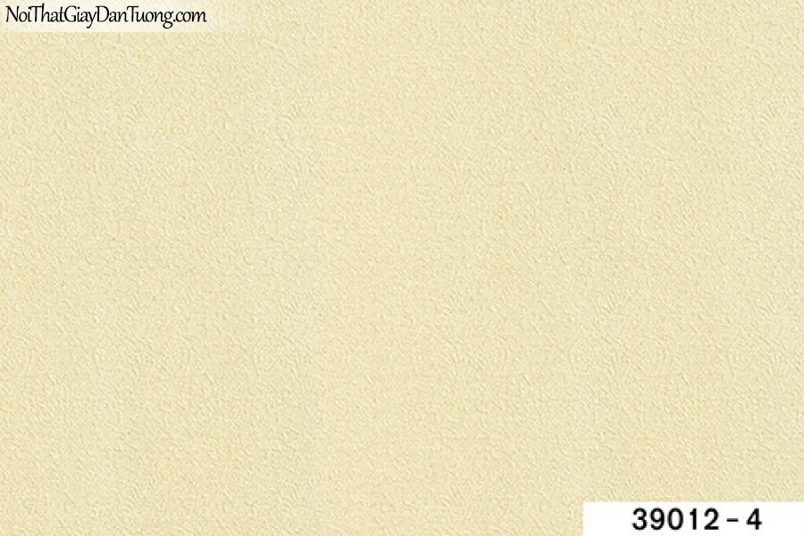 TITAN, Giấy dán tường TITAN 39012-4, Giấy dán tường trơn, mịn, màu vàng kem, bán giấy dán tường ở quận 9