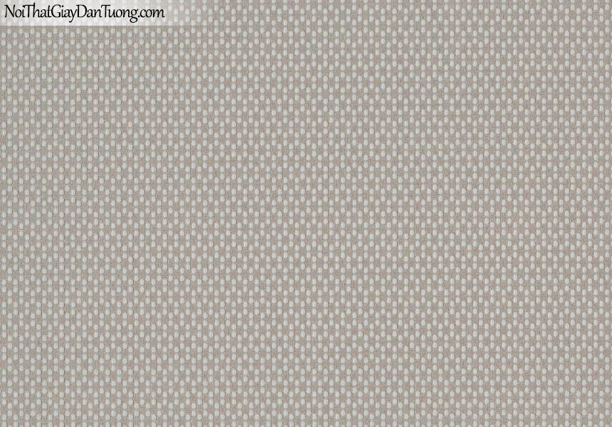 CHAMPANGE, Giấy dán tường CHAMPANGE 2635, Giấy dán tường gân nhỏ li ti, chấm bi nhỏ, màu nâu xám, bán giấy dán tường ở quận Tân Bình