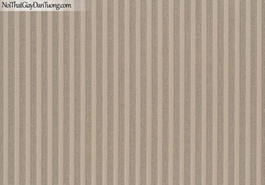CHAMPANGE, Giấy dán tường CHAMPANGE 2644, Giấy dán tường gân nhỏ li ti, sọc đứng, màu tím xám, bán giấy dán tường ở quận 6