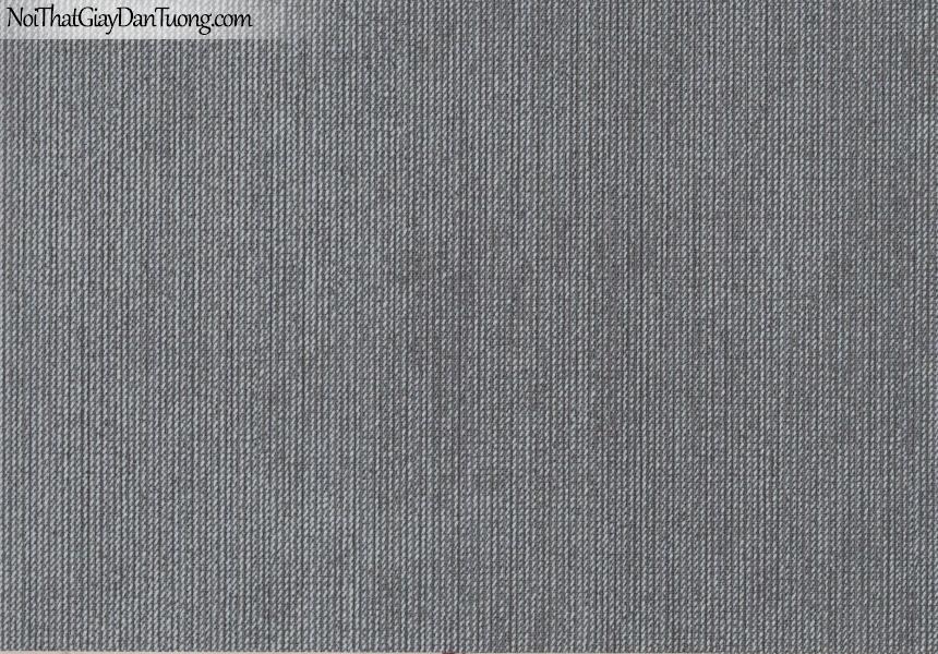 CHAMPANGE, Giấy dán tường CHAMPANGE 2686, Giấy dán tường gân nhỏ li ti, sọc xen kẽ, màu đen xám, bán giấy dán tường ở quận Bình Tân
