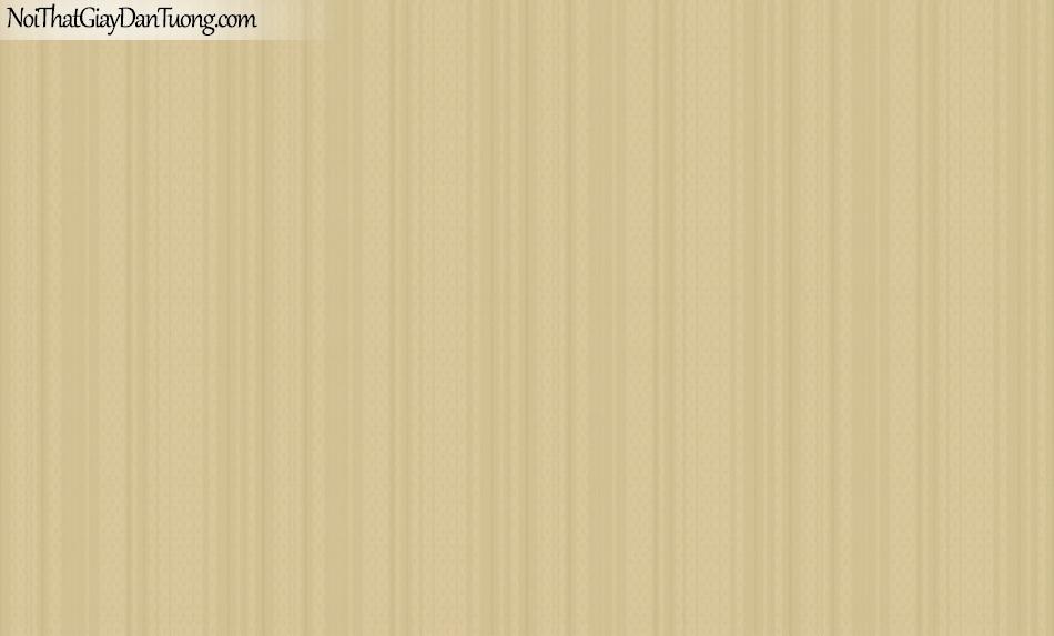BOS 2018, Giấy dán tường Hàn Quốc 81106-8, giấy dán tường trơn, sọc đứng vân nhỏ, màu cam đất