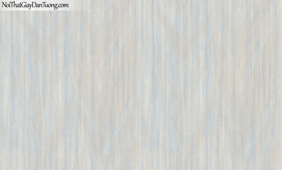BOS 2018, Giấy dán tường Hàn Quốc 81107-1, giấy dán tường trơn, sọc đứng li ti, màu cam xanh