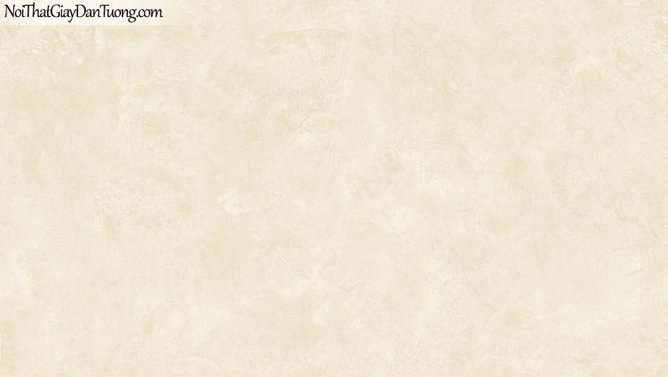 BOS 2018, Giấy dán tường Hàn Quốc 81115-4, giấy dán tường trơn, loang, màu vàng kem